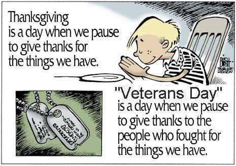 Veterans Day - Dr Bill Toth